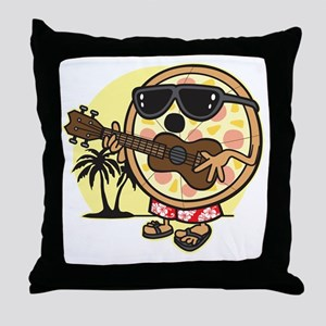 Hawaiian Pizza Throw Pillow