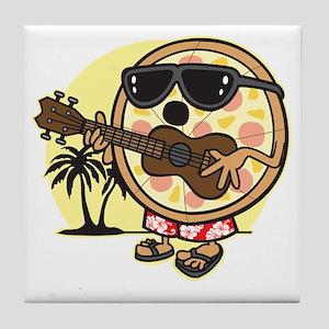 Hawaiian Pizza Tile Coaster