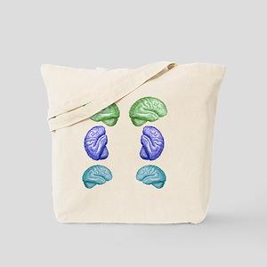 Many Brain Tote Bag