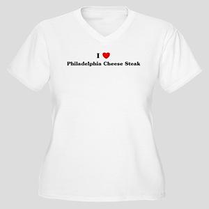 I love Philadelphia Cheese St Women's Plus Size V-