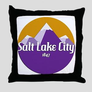 SLC Design Throw Pillow