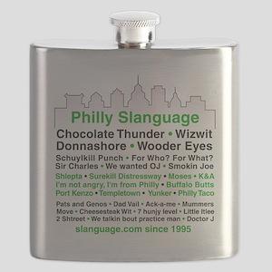 Philly Slanguage TShirt Flask