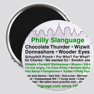 Philly Slanguage TShirt Magnet
