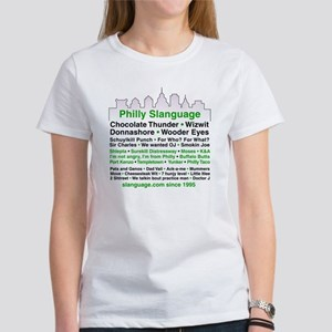 Philly Slanguage TShirt Women's T-Shirt