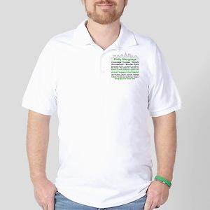 Philly Slanguage TShirt Golf Shirt