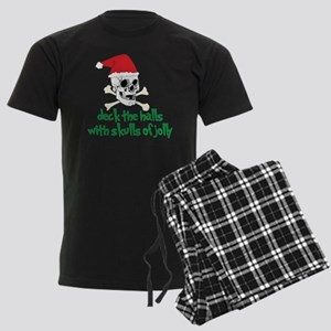 Deck The Halls Men's Dark Pajamas