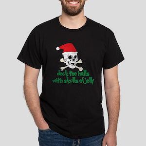 Deck The Halls Dark T-Shirt