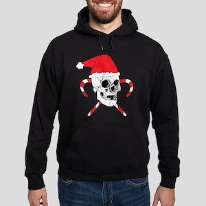 Santa Skull Hoodie (dark)