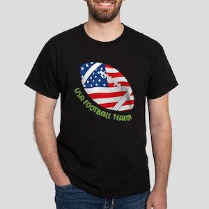 USA Football Team Dark T-Shirt