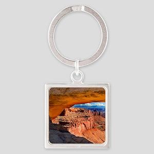 Mesa Arch Square Keychain