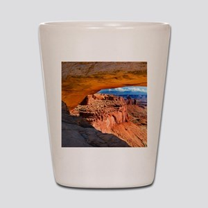 Mesa Arch Shot Glass