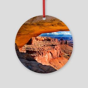 Mesa Arch Round Ornament