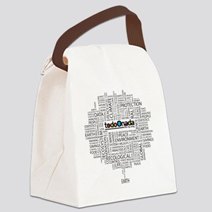 Take care of the universe Canvas Lunch Bag