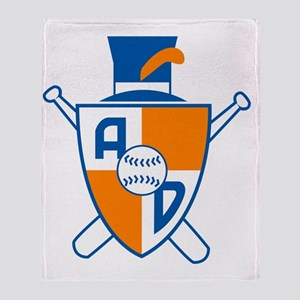 Alexandria Dukes Baseball Throw Blanket