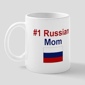 Russian #1 Mom Mug