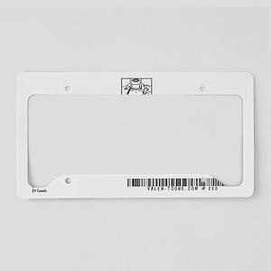 220A-APRIL-FOOL-BACK License Plate Holder