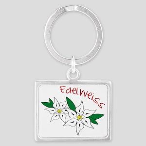 Edelweiss Landscape Keychain