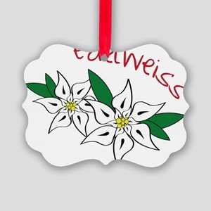 Edelweiss Picture Ornament