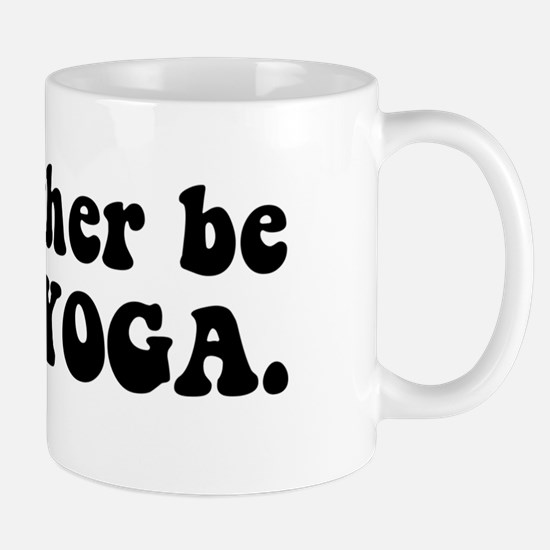 RATHER BE bumper Mug