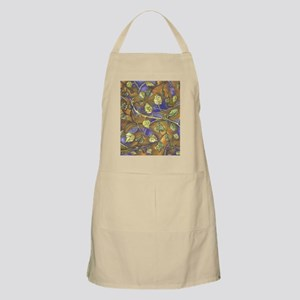 Berry Leaves With No Raspberries with Gold a Apron