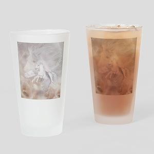 fu_shower_curtain Drinking Glass