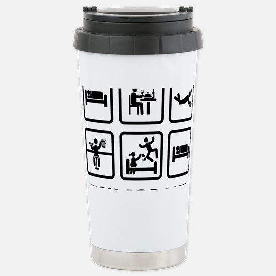 Rugby-02-AAZ1 Stainless Steel Travel Mug