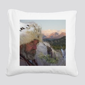 Wilderness_4_5 Square Canvas Pillow