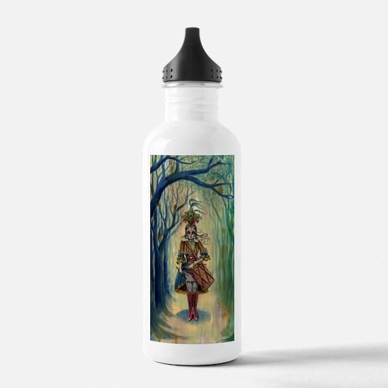 Drummer Girl Water Bottle