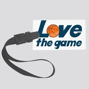 Love The Game Large Luggage Tag