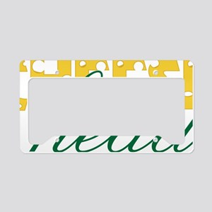 Cheese Head License Plate Holder