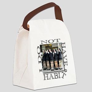 habit1 Canvas Lunch Bag