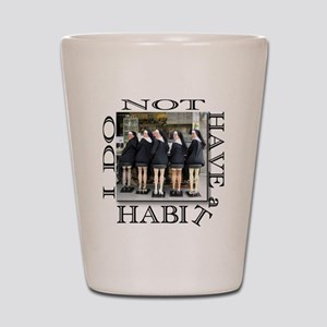 habit1 Shot Glass