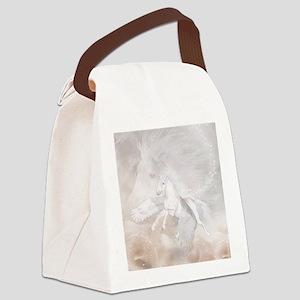 fu_queen_duvet_2 Canvas Lunch Bag
