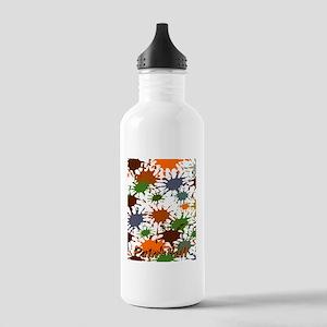 Fun Paintball Splatter Stainless Water Bottle 1.0L