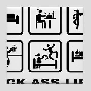Wushu-ABA1 Tile Coaster