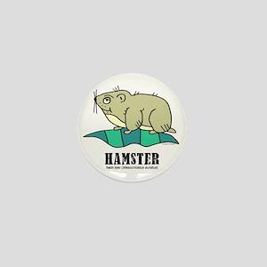 Cartoon Hamster by Lorenzo Mini Button