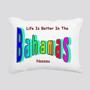 Better In the Bahamas Rectangular Canvas Pillow