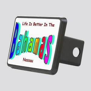 Better In the Bahamas Rectangular Hitch Cover