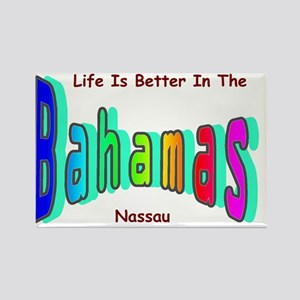 Better In the Bahamas Rectangle Magnet