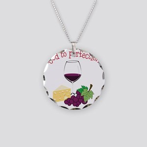 Aged To Perfection Necklace Circle Charm