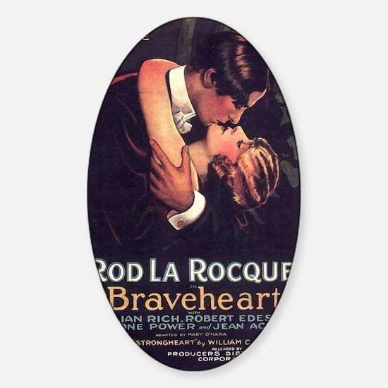 braveheart Sticker (Oval)