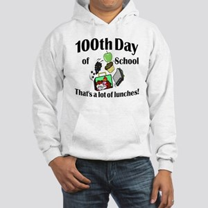 100th Day Lunches Hooded Sweatshirt