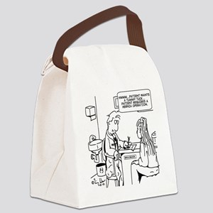 9057 Canvas Lunch Bag