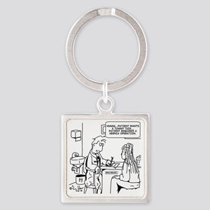 9057 Square Keychain