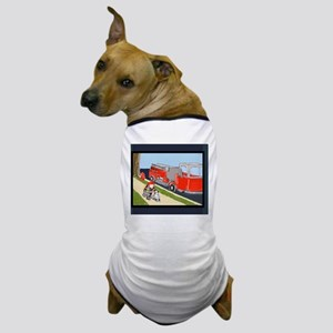 Fire Engine, Fireman, Dalmatian 5x7 fe Dog T-Shirt