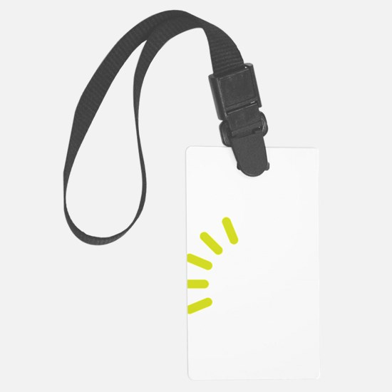 Brain loading Luggage Tag