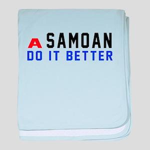 Samoan It Better Designs baby blanket