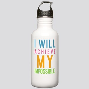 bottle I will achieve  Stainless Water Bottle 1.0L