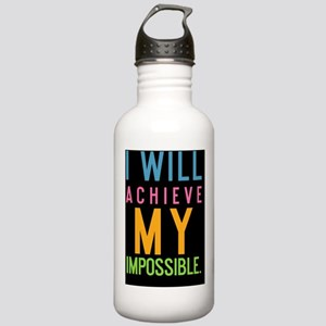 card I will achieve my Stainless Water Bottle 1.0L