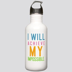 ipad I will achieve my Stainless Water Bottle 1.0L